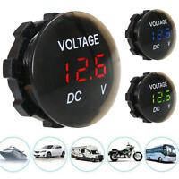 Mini 12V-24V Car Motorcycle Universal Waterproof LED Digital Display Voltmeter