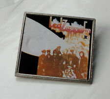 Vintage Led Zeppelin II pin badge Classic Heavy Rock Made in ENGLAND