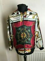 amazing decadence souvenir  jacket silk viscose looks size m unisex