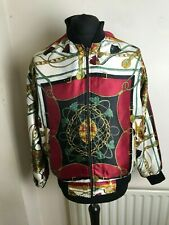 amazing decadence souvenir  jacket silk viscose looks size m unisex