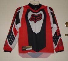 Rare Vintage FOX Racing Motorcross Technology Sport Wear Jersey Shirt Sz K L