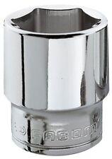 "Facom 22mm ogv 3/8"" square drive hex socket J.22H"