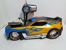 Toy State Hot Wheels R/C Hyper Racer Car with Color Change Feature