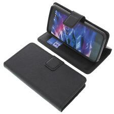 Tasche für MEDION Life E4504 Smartphone Book-Style Schutz Hülle Handytasche Buch