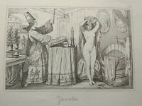 Antique French 18th Century Engravings Saucy, Risque. Ooo La La! Interior Erotic