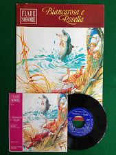GRIMM - BIANCAROSA E ROSELLA , Fiabe Sonore 10 + Disco 45 , 1a Ed Fabbri (1966)