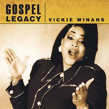 FREE US SHIP. on ANY 2 CDs! ~Used,VeryGood/Good CD Vickie Winans: Gospel Legacy
