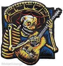 Guitarro Embroidered Patch Poster Art Almera AP12