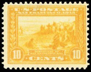 400, Mint 10¢ VF NH With Bright Yellow Color Cat $270.00 - Stuart Katz
