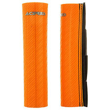Acerbis Upper Fork Guards Orange for Yamaha MX360 1973-1974