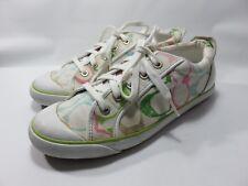 "COACH ""Barrett"" Multi-Color Sneakers Women's Size 9 Medium (Serial #A1080) EUC"