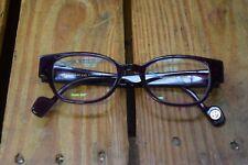 Vintage Anne et Valentin Translucent Purple Eyeglasses Frames Romance 0801