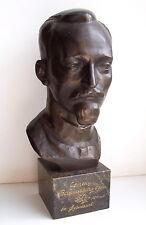 Russian Soviet Communist NKVD leader Felix Dzerzinsky dedicated bust statuette