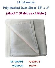 No Nonsense Poly-Backed Dust Sheet 24' x 3' ** PURCHASE TODAY **