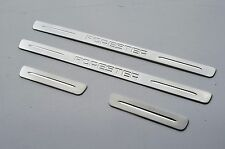 Stainless Door Sill Panel Kick Step Scuff Plate Protector for Subaru Forester S3