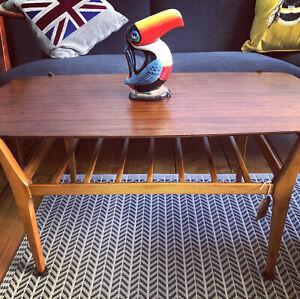 MCM Mid Century Modern Nathan Coffee Table Furniture/Interior/Retro/Vintage