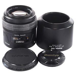 Mamiya 645 AF 150mm 1:3.5 for Mamiya AF AFD II III and Phase One 645DF DF+ (384)