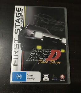 Initial D First Stage Collection 1 Anime DVD