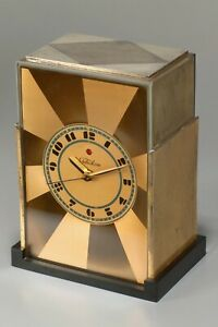 1928 Paul Frankl American Art Deco Skyscraper Telechron Modernique Clock -Works