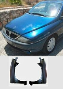 LANCIA Y MODEL 2000 03 FRONT FENDER PANEL PAIR LH 4677726 R 4677725 AFTERMARKET