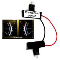 VU-Meter Beleuchtung LED-Umrüst-Kit Grundig TS1000 in purweiß 6000K Ersatzteil
