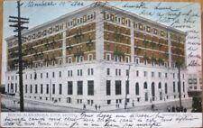 Winnipeg, Manitoba, Canada 1908 Postcard: Royal Alexandra CPR Hotel