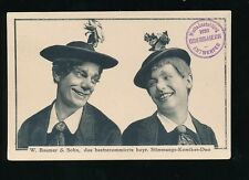 Netherlands Holland W Baumer & Sohn duo 1930 PPC