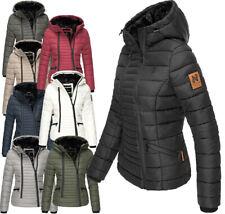 Navahoo Damen Winter Jacke Mantel FVS4  Parka Steppjacke Teddyfell Outdoor Tabea