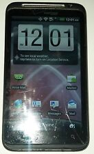 HTC ThunderBolt Black Verizon Smartphone Small Cracks in Glass Fully Functional