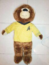 Star Trek Bear Captain Kirk Plush Used