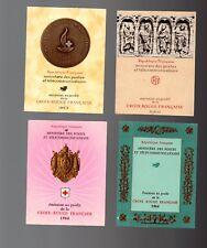 FRANCE Lot de 12 carnets CROIX ROUGE entre 1960 et 1977  Neuf**