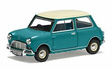Corgi Austin Mini Mk1 Cooper S Surf Blue VA02538 Diecast Model Car 1 43