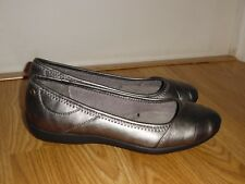 Life Stride Liza Too Round Toe Synthetic Ballet Flats slip on shoes Sz 6.5 W