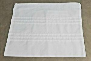 "NWOT LDS TEMPLE ENVELOPE Zippered Bag WHITE Inside Pocket SACRED 15""x12"" UNISEX"