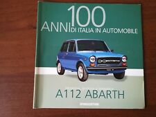 AUTOBIANCHI A112 Rare booklet 30 PAGES