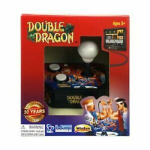 Retro Double Dragon TV Plug N Play Video Game Console Old School Joystick Arcade