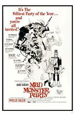 Mad Monster Party Movie Poster 24x36in #01