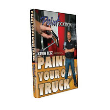 Paint Your Own Truck Training Dvd Paintucation Kevin Tetz