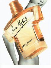 Publicité Advertising 117  1996   parfum  femme Sonia Rykiel