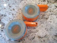 Lot of 2 Nerf Drum Magazine Clips CS-35 Rounds Dart Gun Ammo Tested Accessory