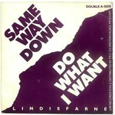 "Lindisfarne - Same Way Down - 7"" Record Single"