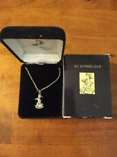 Hummel Pendants w/Chains, Necklaces, Lot of 3 w/Orig. Boxes & Cases, Goebel