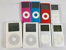 Bundle of 8 Untested Apple iPod Mp3 Players - As-Is - Lot