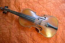 Antique, Vintage, Old Czechoslovakian Violin, 4/4