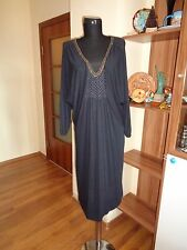 DAY BIRGER ET MIKKELSEN STRETCH JERSEY DRAPED WITH DOLMAN SLEEVES TUNIC DRESS-M