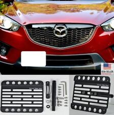 For 13-14 Mazda CX-5 Front Tow Hook Mount License Plate Bracket Relocator