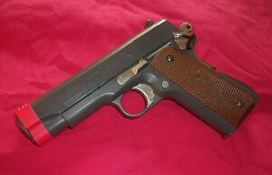 KSG Colt Combat Comander 1911 Airsoft Spring Pistol + Magazine Soft Air Gun Used