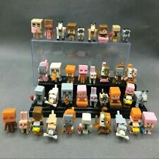 Minecraft Ice Series 5 Mini Figures 36 pc Toys Alex Steve Wolf Cat Rabbit Zombie