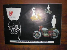 Prospekt Sales Brochure Motoimport Mopeds Motorroller Mokick  Car автомобиль