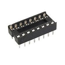 Espléndida 30pcs 16 pines DIP IC Sockets adaptador de soldadura tipo socketSE